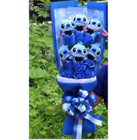 Lilo And Stitch Toys Doll Flowers Christmas Graduation Gift Romantic Bouquet New