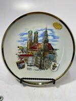 "CITY OF MUNCHEN PLATE 7.5"" BAVARIA W.GERMANY"