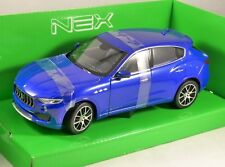 2016 MASERATI LEVANTE in Blue 1/24 scale model by WELLY