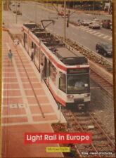 LIGHT RAIL IN EUROPE (trams/tramways) - Michael Taplin - softback book