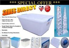 Large Plastic Home Storage Boxes with Wheels