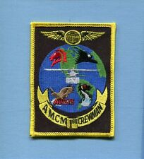 AMCM 1st AIRCREWMAN US NAVY SIKORSKY H-53 SEA STALLION HELICOPTER SQUADRON PATCH