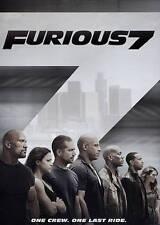 Brand New Furious 7 Movie (DVD, 2015) - Paul Walker, Vin Diesel Free Shipping