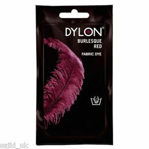 Dylon Fabric and Clothes Hand Dye 50g - Burlesque Plum Red