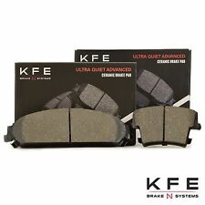 Shims Fits Dodge Chrysler KFE967-104 Premium Ceramic Disc Brake Pad REAR Set