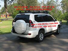 Deluxe Alloy Roof Rack 2200mm for TOYOTA Land Cruiser Prado 120 Series Roof Rack