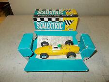 SCALEXTRIC FERRARI  C 62 GIALLA CON SCATOLA OTTIMA (VERY GOOD IN BOX)