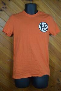 Dragon Ball Super Licensed T-Shirt Orange Mens Small - VGC - Free postage