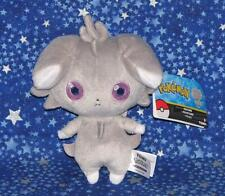 New Espurr Pokemon Plush Doll Toy from X and Y Video Games by Tomy USA 2016