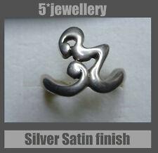 New real sterling silver 925 dress ring lightening strike design new not scrap
