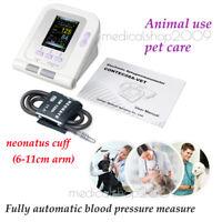 Monitor de presión arterial veterinario digital automático VET, manguito NIBP