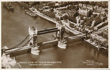 PC68130 Aerial View of Tower Bridge and Tower of London. Aero Pictorial. Excel.