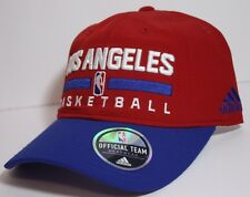 "NEW Official NBA LA Clippers ADIDAS ""Team Issue"" Adjustable Hat Cap Los Angeles"