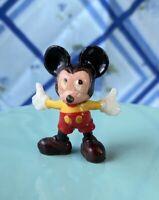 """Vintage Marx Toys Disneykins MINNIE MOUSE Figure 1"""" Plastic Hand Psinted 1960s"""