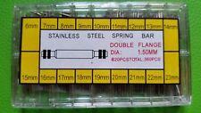 360 PCS POMPE AXE BARRE TIGE BRACELET-  MONTRE  6mm - 23mm /* DOUBLE FRANGE /*
