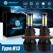 2X H13 9008 LED Headlight Super Bright Bulbs Kit 360000LM White Hi-Lo Beam 6000K