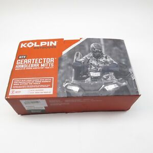 Kolpin, Geartector Handlebar Mitts, Black 92185