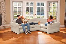 Sectional Sofa Couch Corner Inflatable Air Bed Modern Home Living Room Furniture