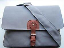 Quality Men Large Canvas Satchel Messenger Laptop College Travelling Bag Blue