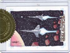 Battlestar Galactica Season 2 Jim Kyle / Vipers Sketch Card a
