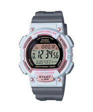 Casio STLS300H-4A, Solar Watch, 5 Alarms, World Time, 2 Countdown Timers, Resin