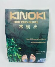 Kinoki Foot Pads Deluxe - 10 Adhesive Sheets