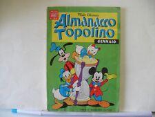ALMANACCO TOPOLINO n. 1 del 1969 con bollini e cartolina abbonamento
