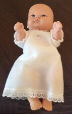 "Playmate Vintage 1988 Vinyl 8"" Jointed Original Baby Doll Newborn Blue Eyes!"