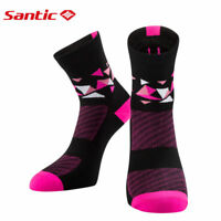 Santic Women Cycling Running Sport Socks Breathable Free Size Ankle Socks