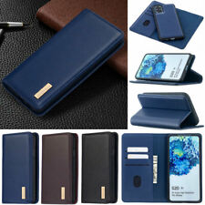 Luxury Wallet Real Leather Flip Case Cover For Samsung A51 A71 A31 A21s S20 S10