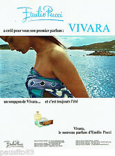 PUBLICITE ADVERTISING  016  1967  Emilio Pucci  parfum Vivara