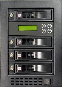 "MediaStor #a803a 1-3, 1 to 3 Target 3.5"" 2.5"" SATA 75MB/s HDD SSD Duplicator"