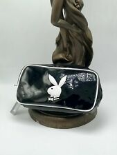 Women's Playboy Black Patent Fashion Make Up Bag