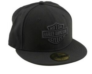 Harley-Davidson® Men's Tonal Bar & Shield Logo59FIFTY Baseball Cap 99514-12VM XL