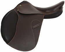 "HDR Memor-X Close Contact Saddle - Aust Nut -17.5"" Wide Tree - FREE ACCESSORIES"