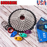 MTB Bike 11-40/42/46/50T Cassette KMC Chain 6/7/8/9/10/11Speed 116/118 Sprocket