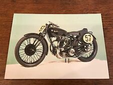 1930 500cc Rudge TT Replica National Motorcycle Museum Postcard
