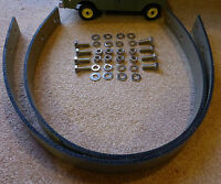Land Rover Series 2a 3 SWB 88 Axle Check Strap & Stainless Bolts Set x2