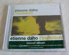 CD ALBUM L'INVITATION ETIENNE DAHO 10 TITRES 2007 NEUF