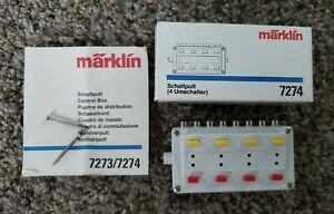 Marklin - #7274 - Control Box USED in Original Box