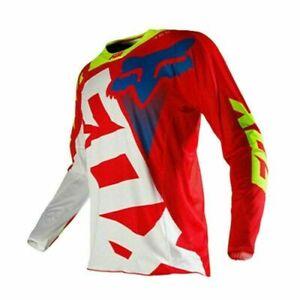 Men's FOX Cycling Jersey Long Sleeve MTB / DB Trail Motocross Racing Shirt