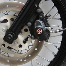 Bremssattel Cover 3D Harley Davidson Sportster Modelle Typ 2 / Kreuz Orange