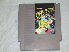 Skate or Die (Nintendo NES, 1988) cart only good  2