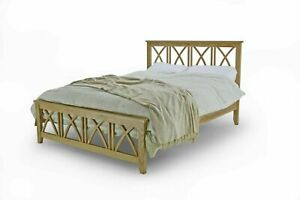 Shaker Scandinavian Style Solid Oak Wooden Bed Frame Double or King || BMB
