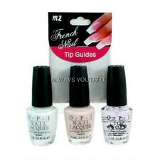 OPI NAIL POLISH French Manicure Set 3 Polishes + Form