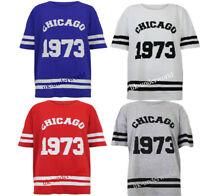 Womens Ladies Varsity Chicago 1973 T-Shirt American Football Sports Tee Vest Top