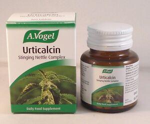A. Vogel, (Bioforce), Urticalcin Tablets (360) Two Btles (720 tabs ) BBE 01/2023