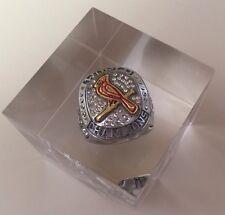 St. Louis Cardinals 2011 Jostens World Series Champions Lucite/Acrylic Ring SGA