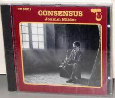 OPUS 3 CD 9201: Joakim Milder - Consensus - OOP 2000 Sweden Factory SEALED