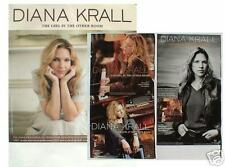 "Diana Krall- 2 U.S. Promo Posters For ""The Girl In The Other Room"""